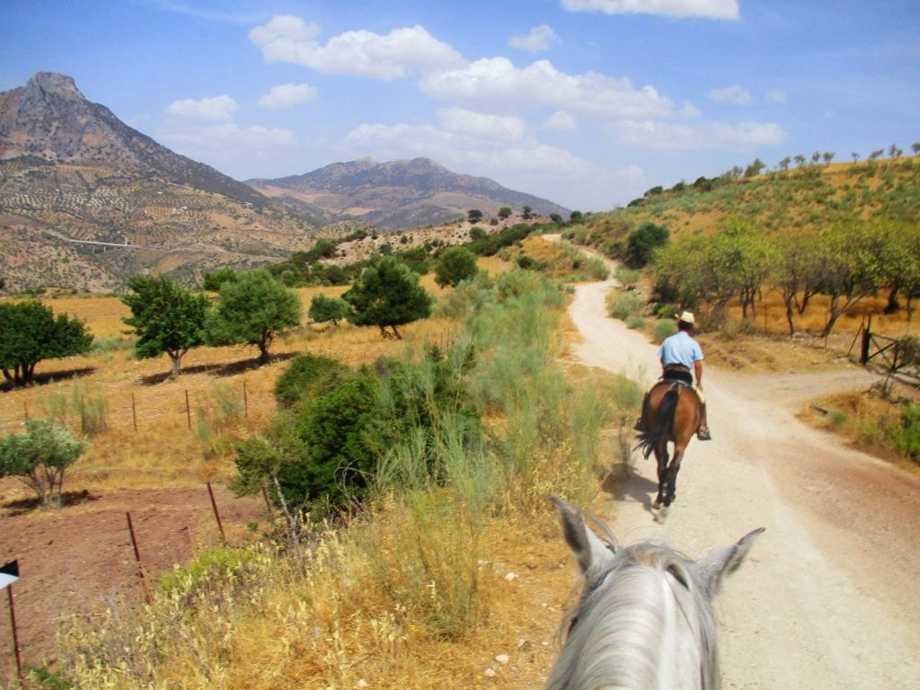 Paardrijroutes Andalusië Zuid Spanje